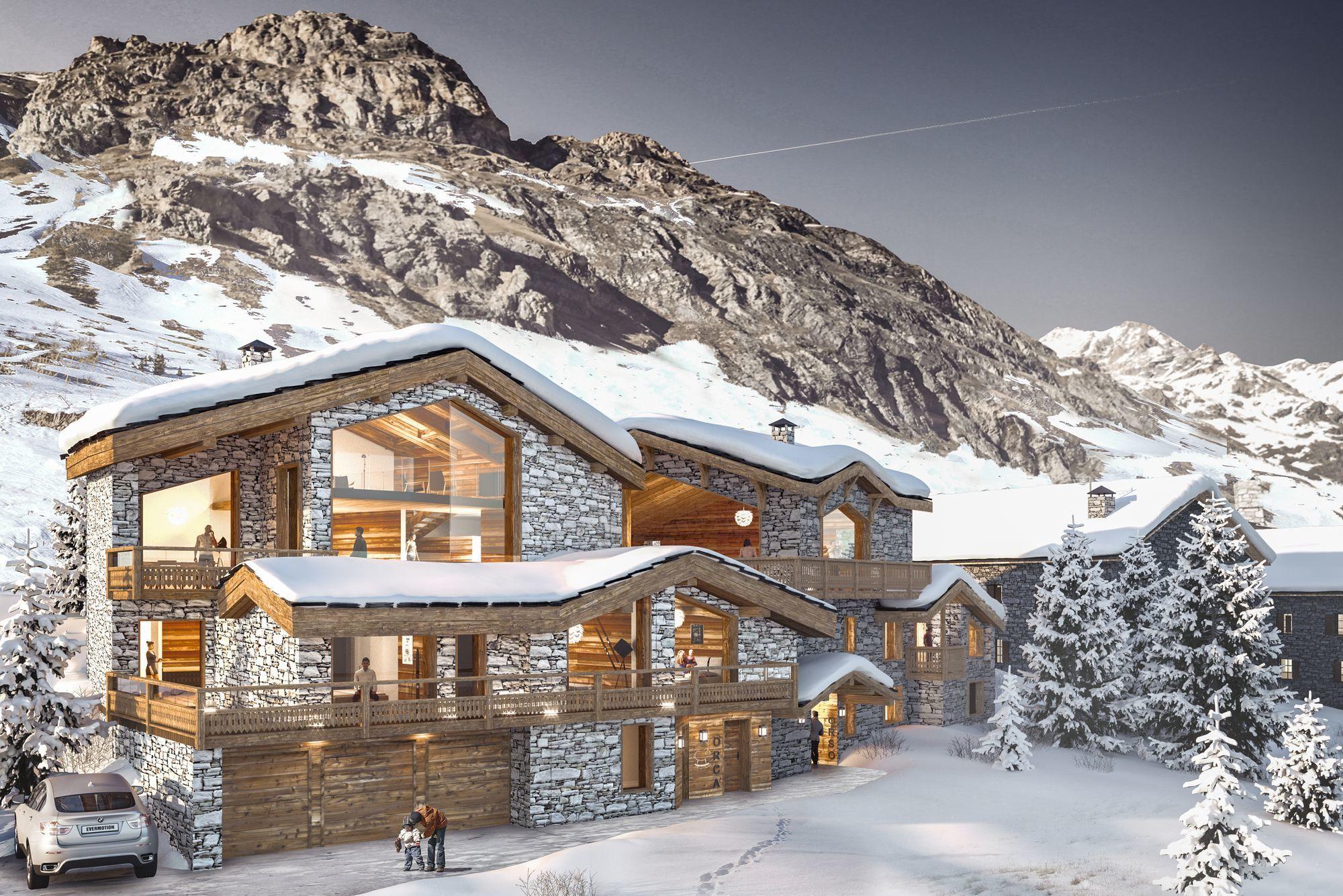 Chalet Orca : un lieu de rêve dans le Val d'Isère, au pied d'un domaine skiable exceptionnel