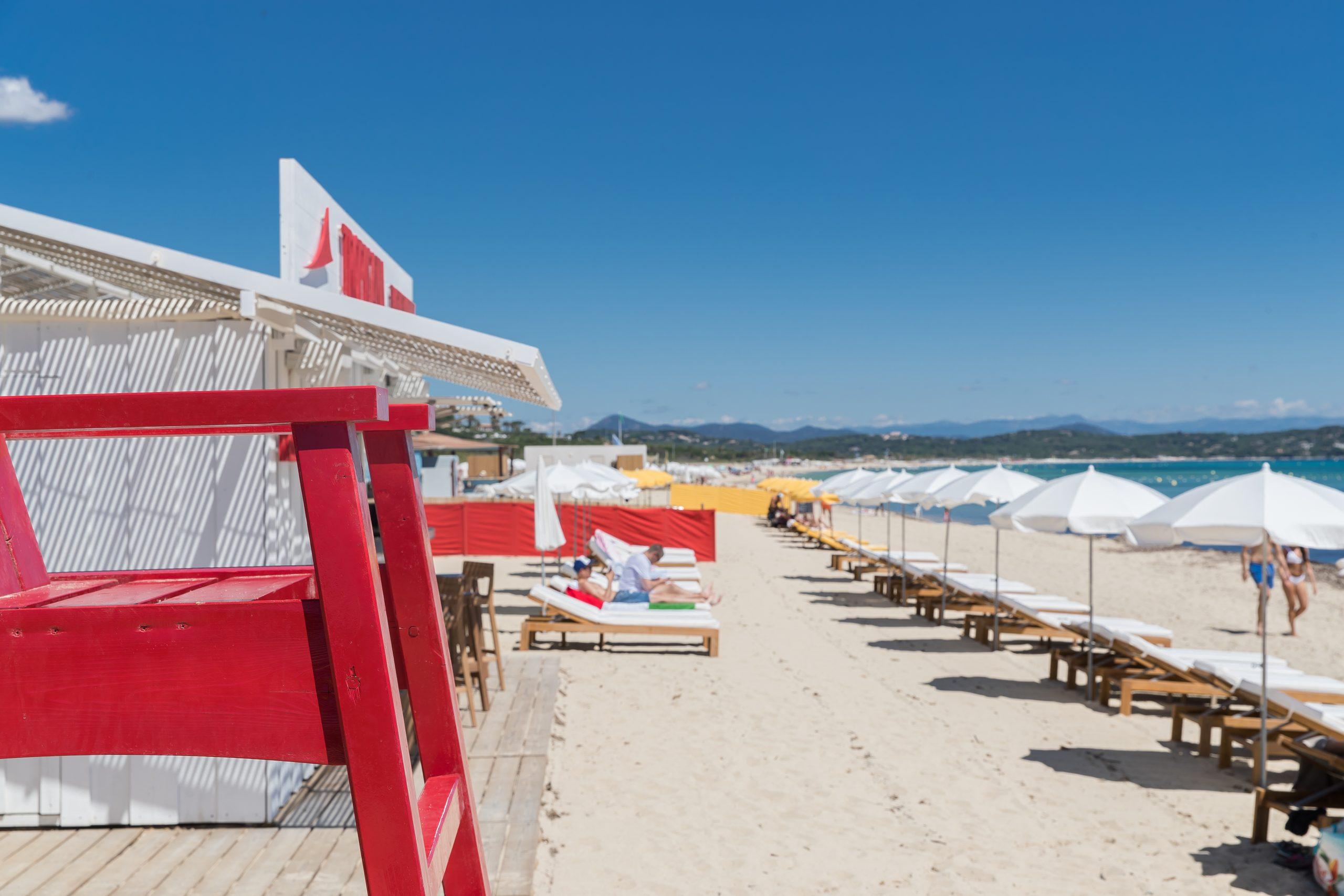 La Tarte Tropézienne présente «Tropicana, plage de Ramatuelle»