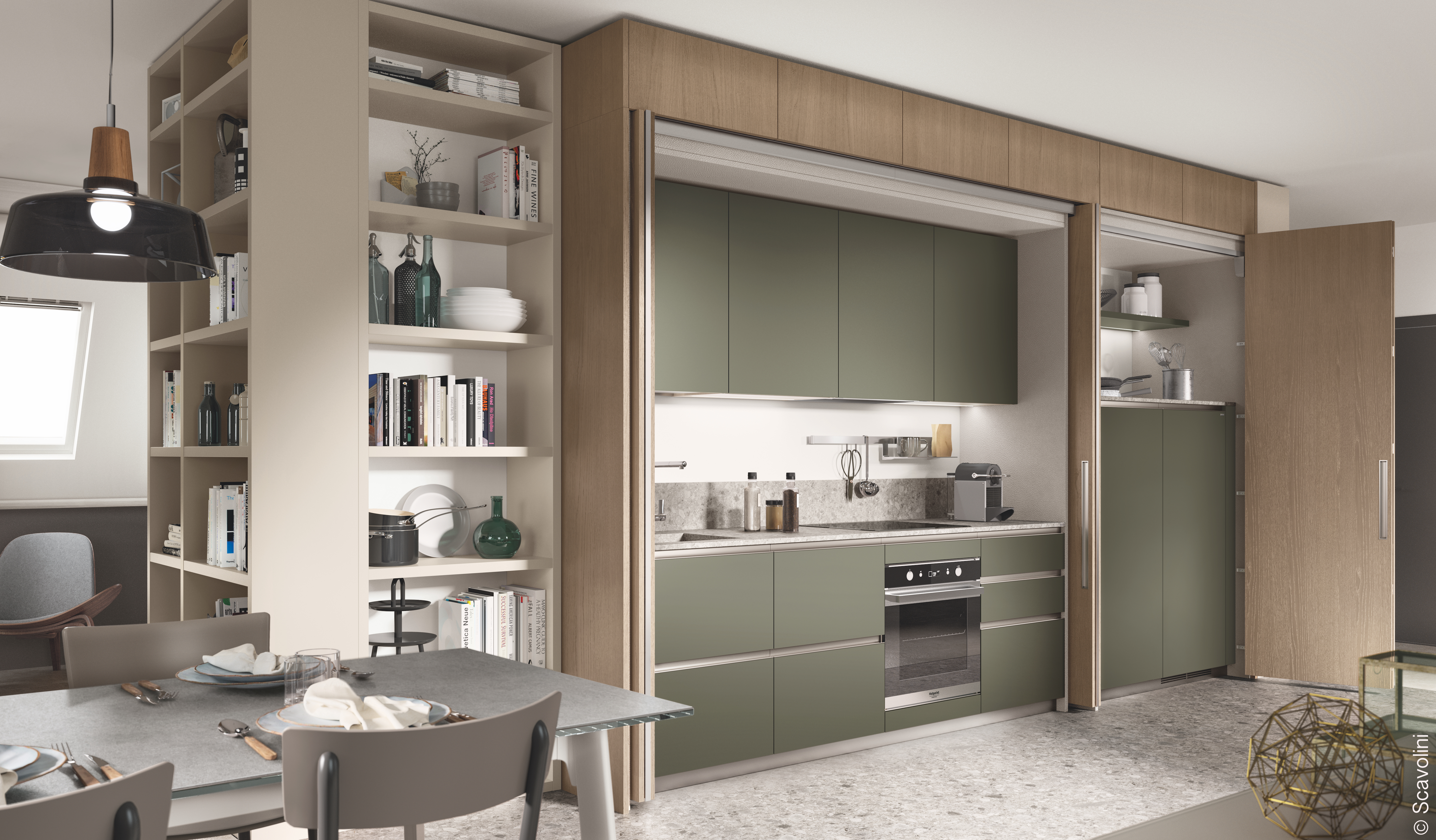 Une cuisine modulable, si pratique et moderne !