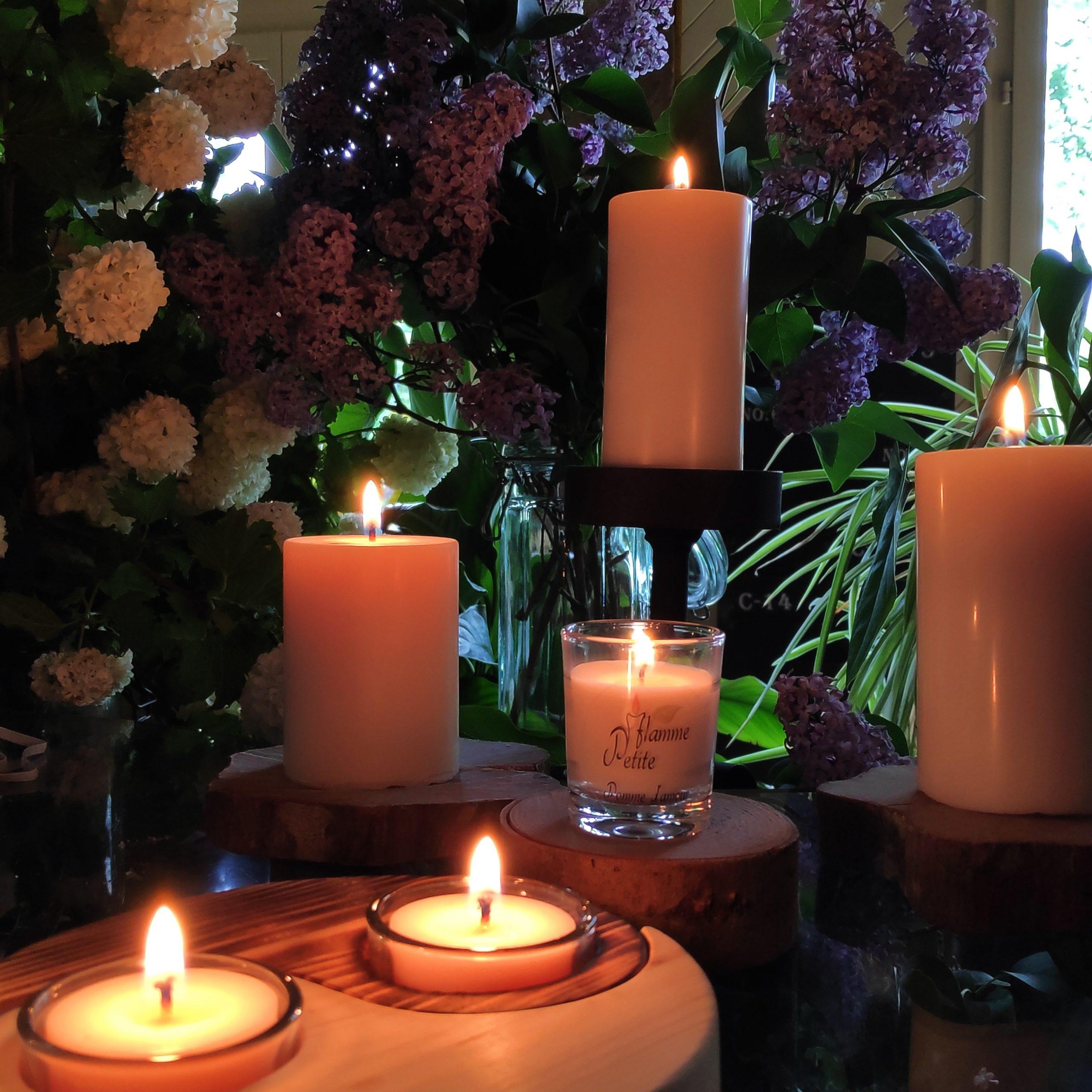 Petite Flamme : des bougies parfumées artisanales 100 % végétal