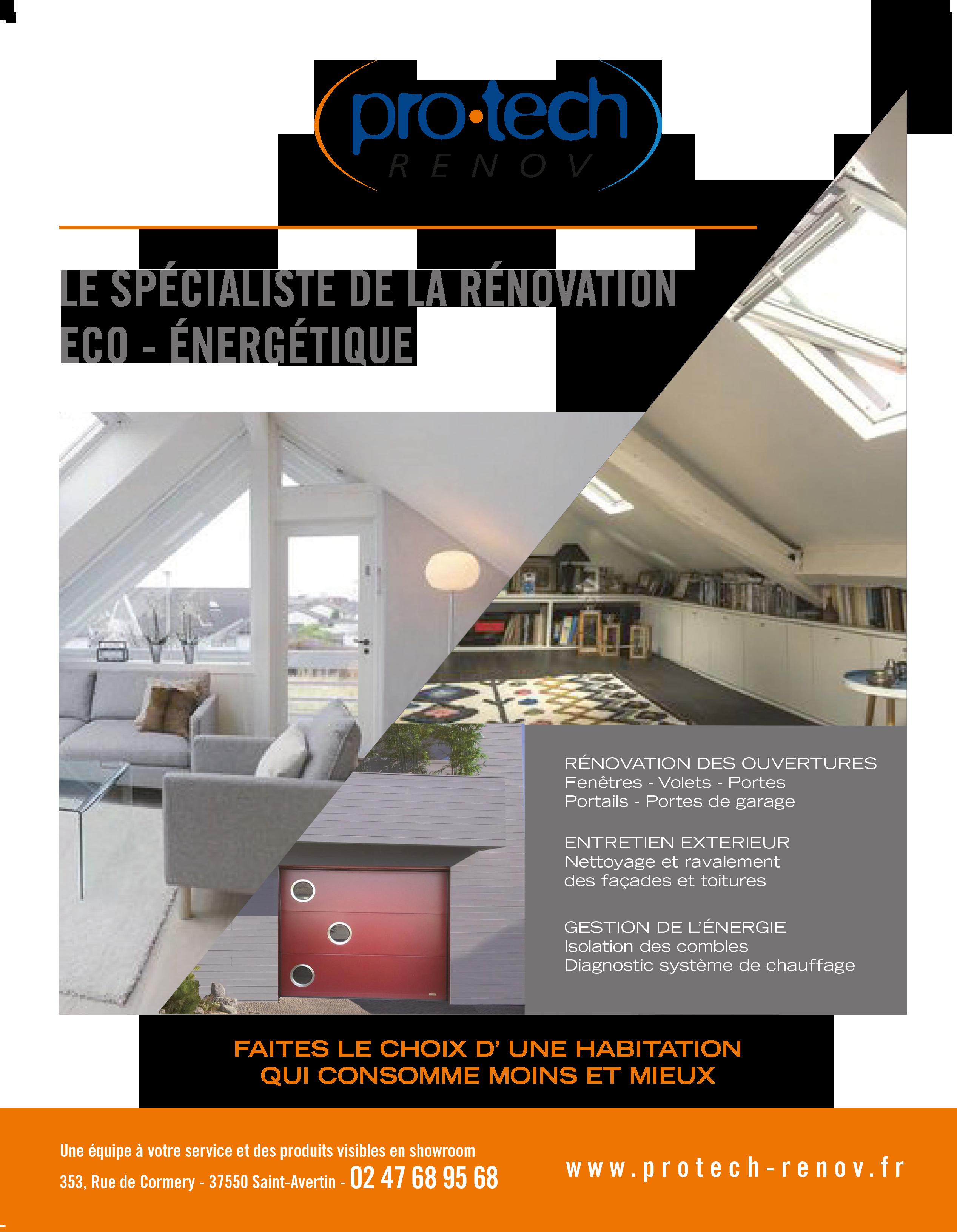 Pro Tech Renov : Rénovez votre maison pour faire des économies d'énergie