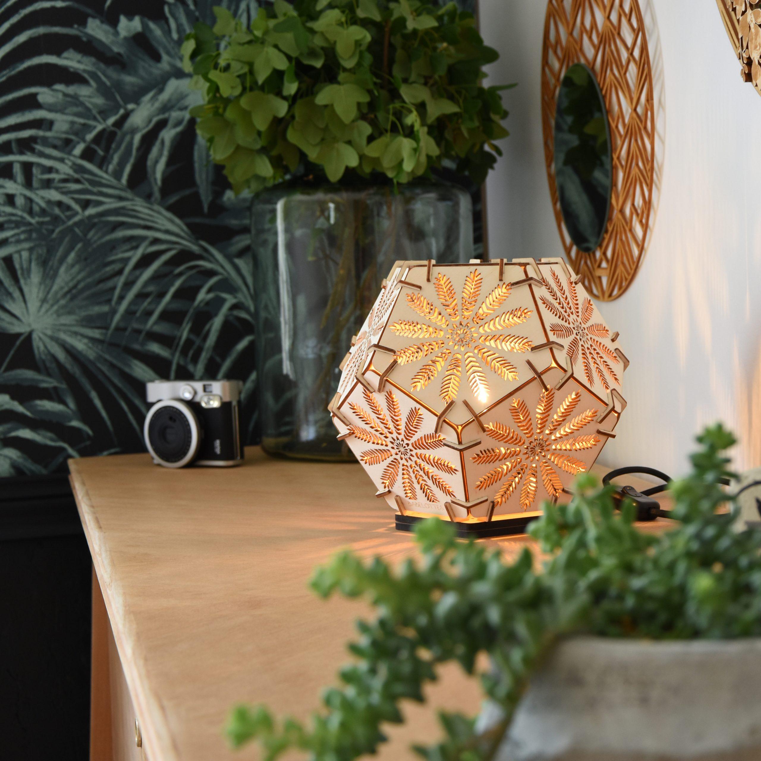 Babelottes : de superbes luminaires et objets de déco, 100% en bois made in France