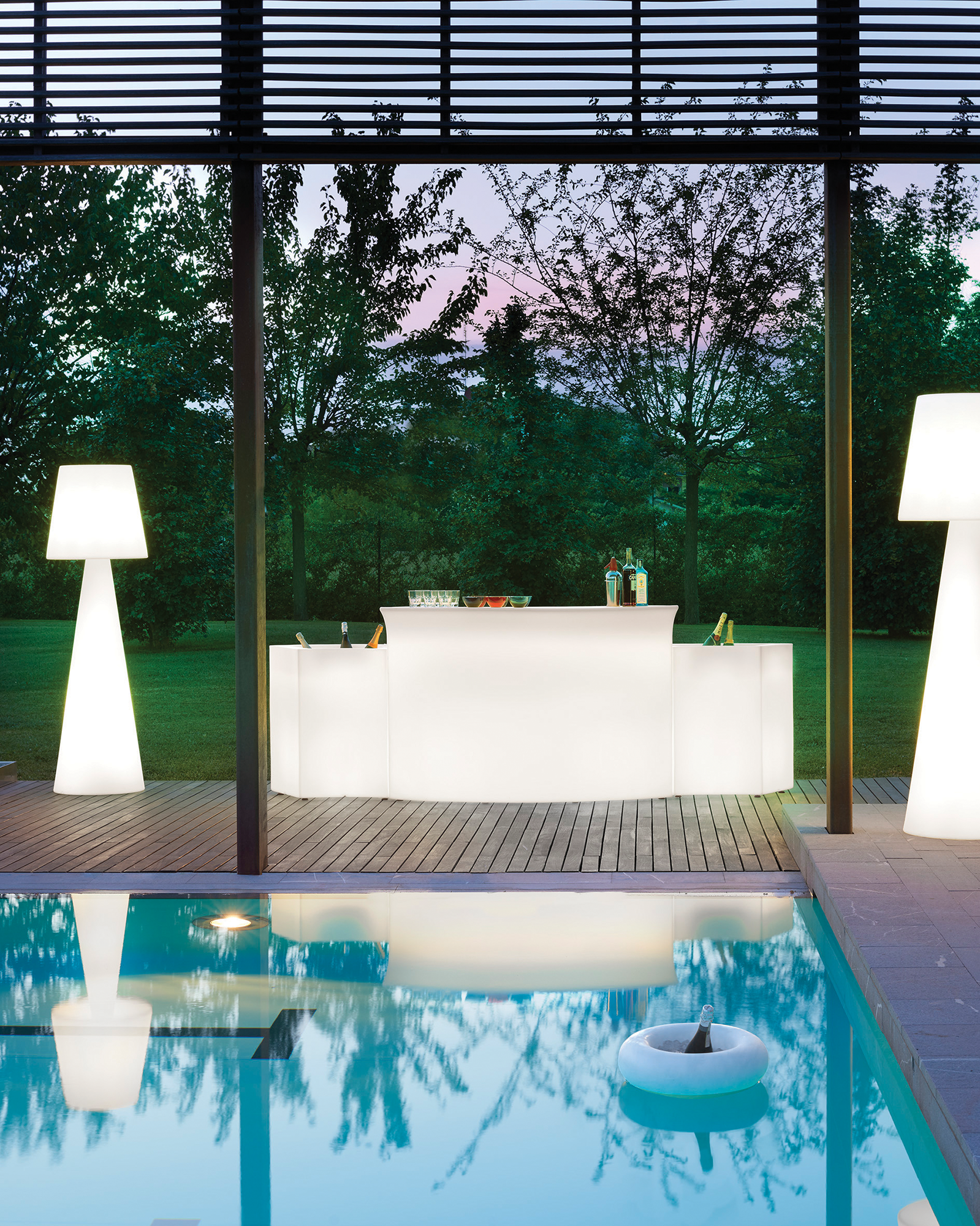 LE MOBILIER QUI S'ALLUME: des meubles et objets lumineux design et tendance