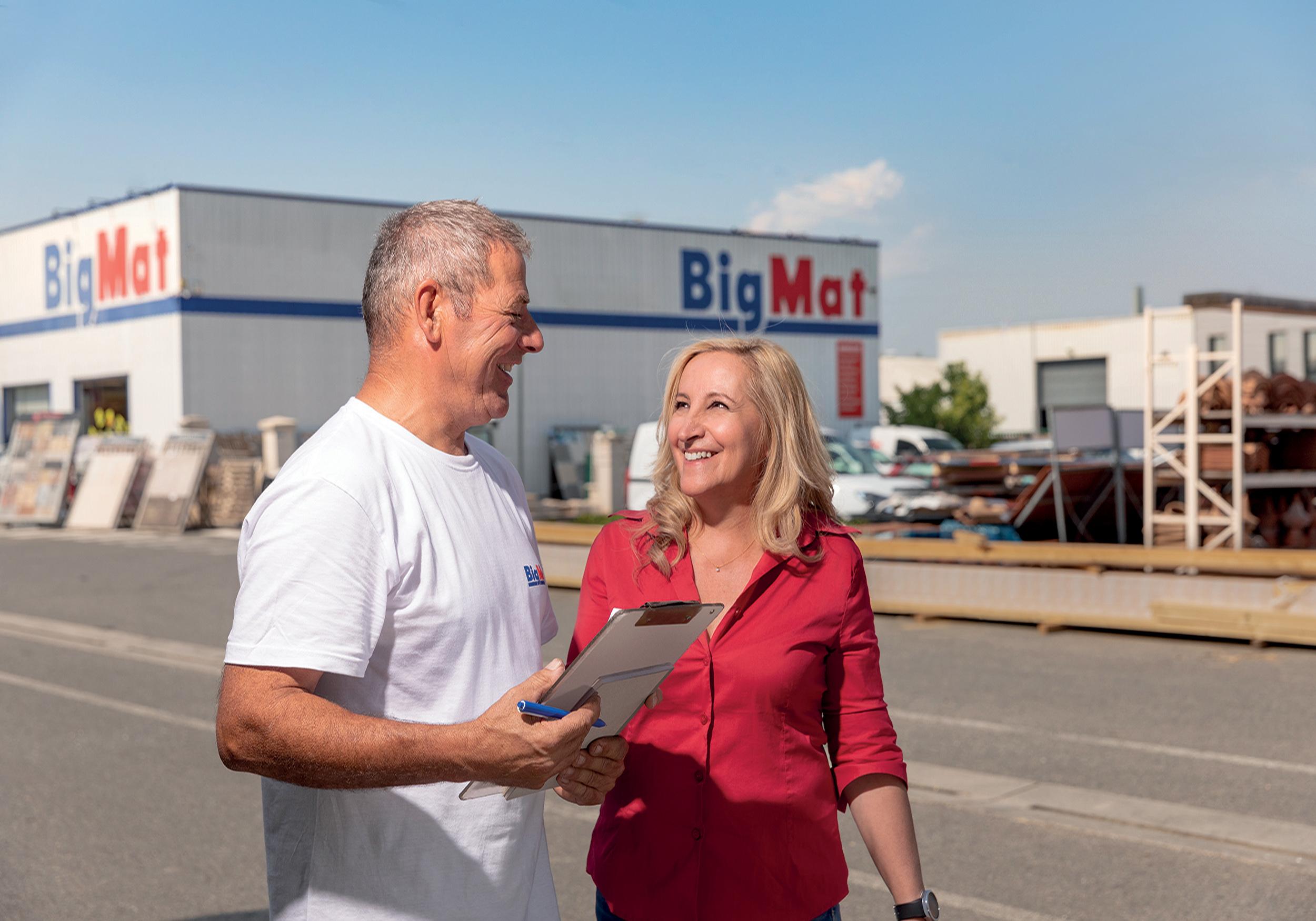 BIGMAT: 40 ans d'expertise au service de vos projets