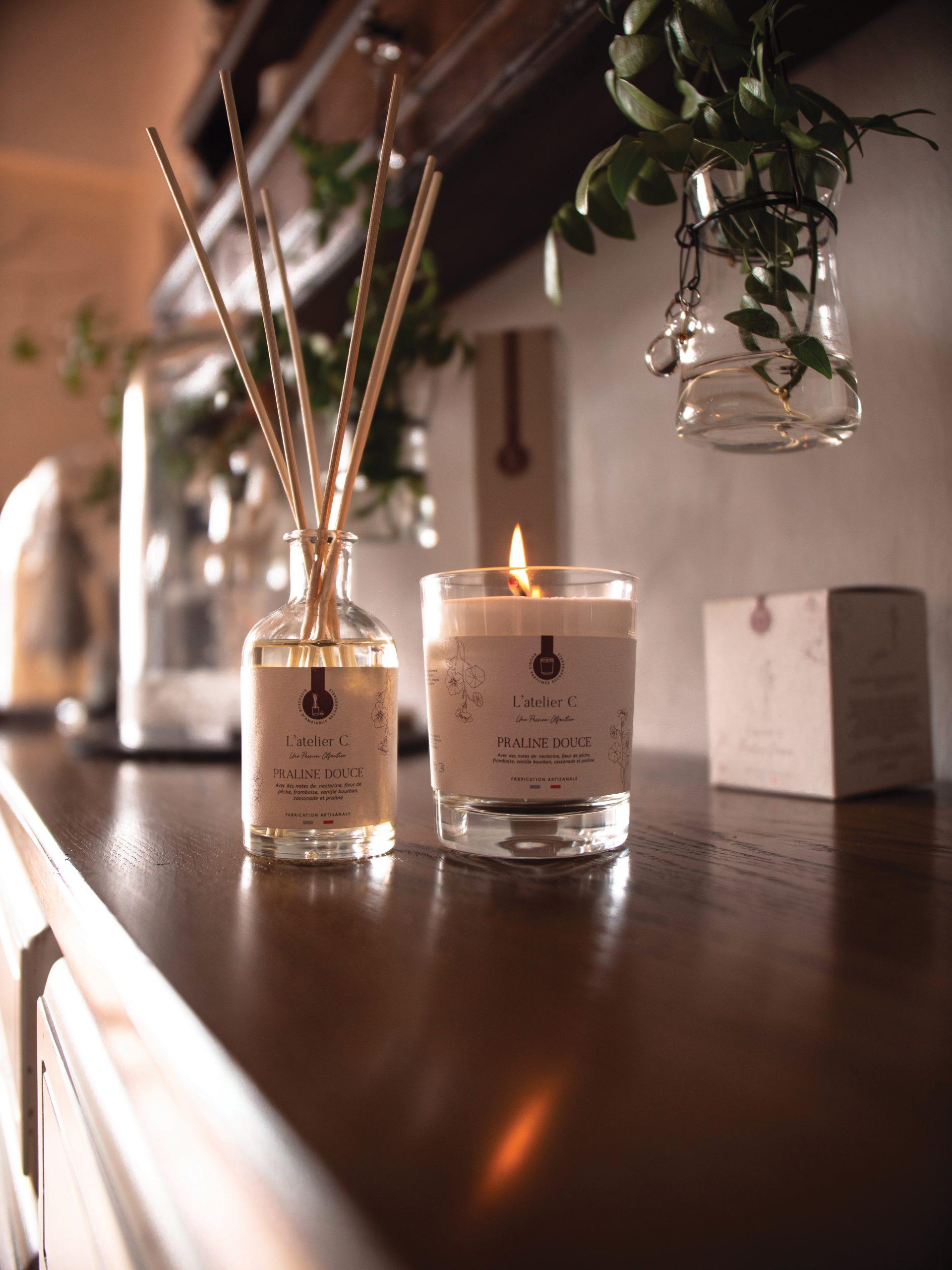 L'Atelier C : Une marque éthique et engagée de parfums d'ambiance pour votre intérieur