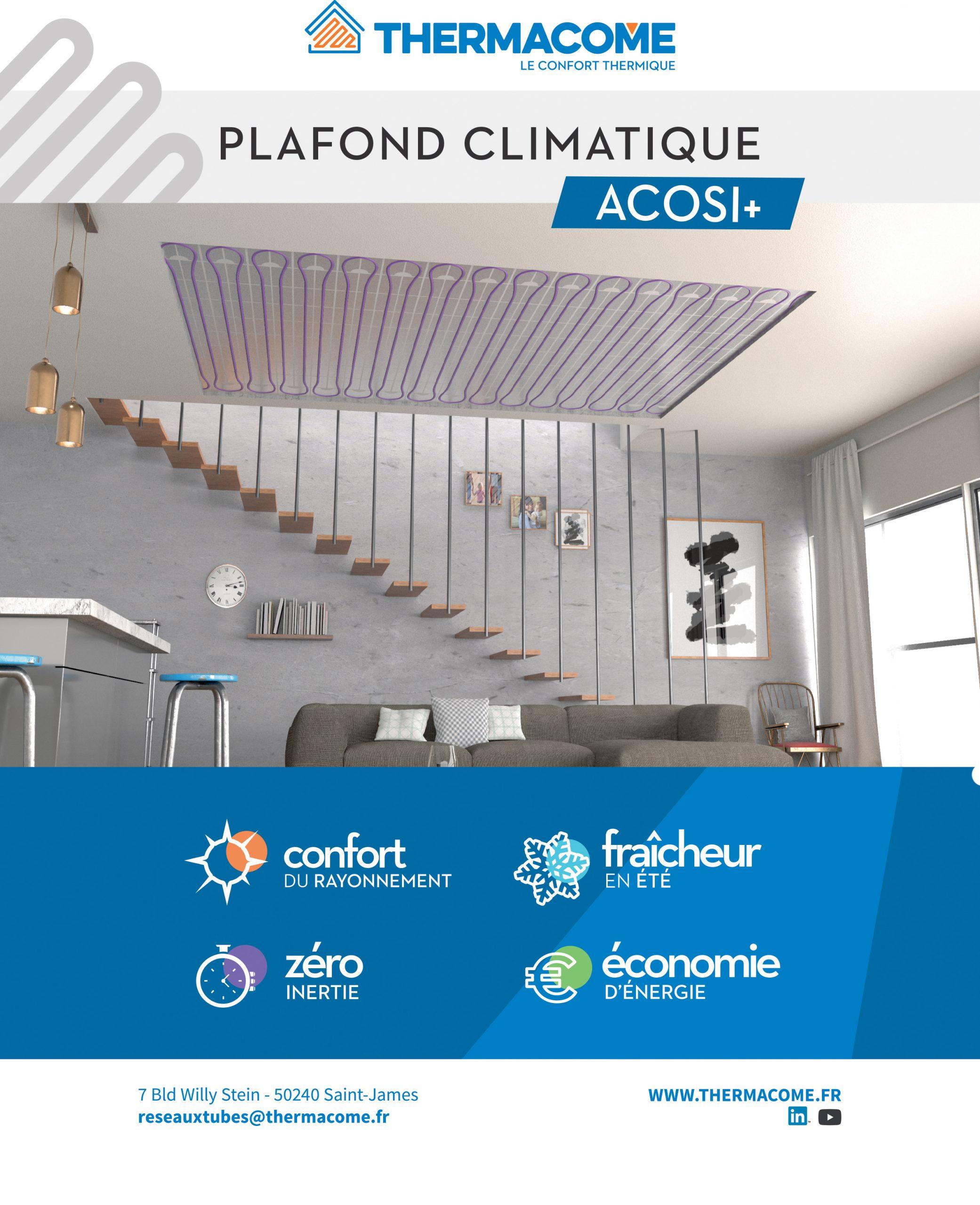 Un plafond chauffant réversible pour une température idéale dans votre maison