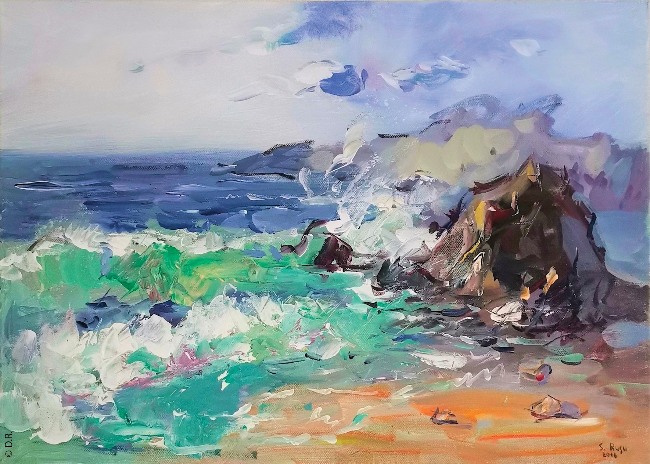 SERGIU RUSU : un artiste de la peinture figurative à découvrir