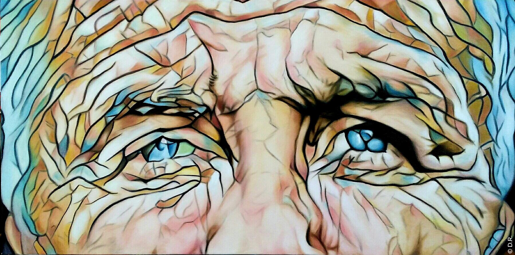 ALEXANDRA DE BASTO : L'artiste vous invite à prendre du temps pour voir le mystère que se cache derrière un regard