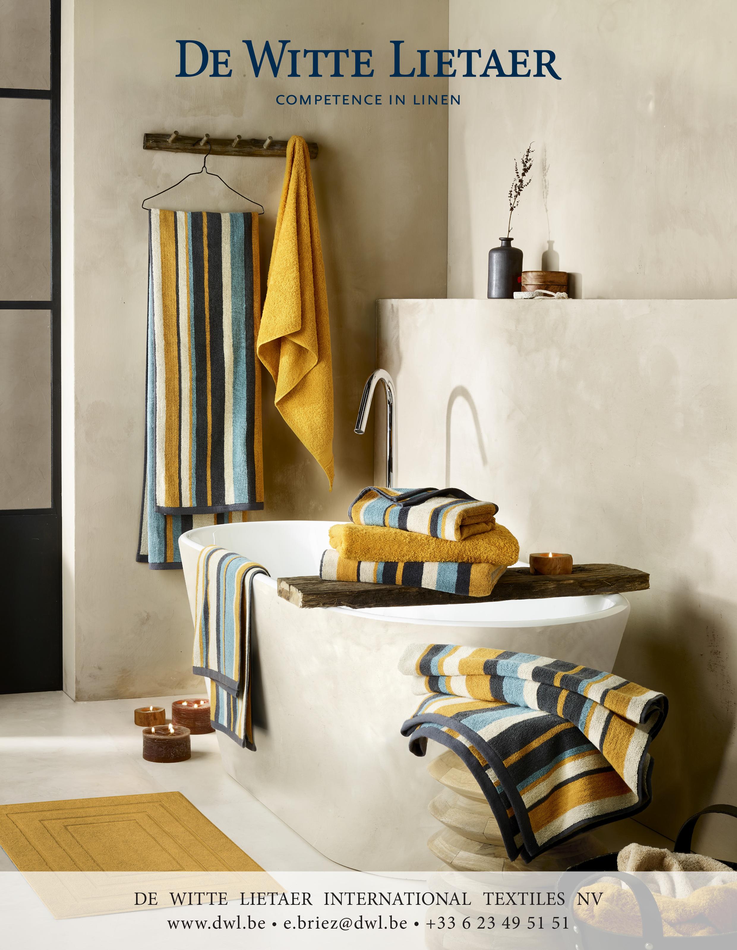 De Witte Lietaer : Du linge de maison haut de gamme pour un intérieur chic