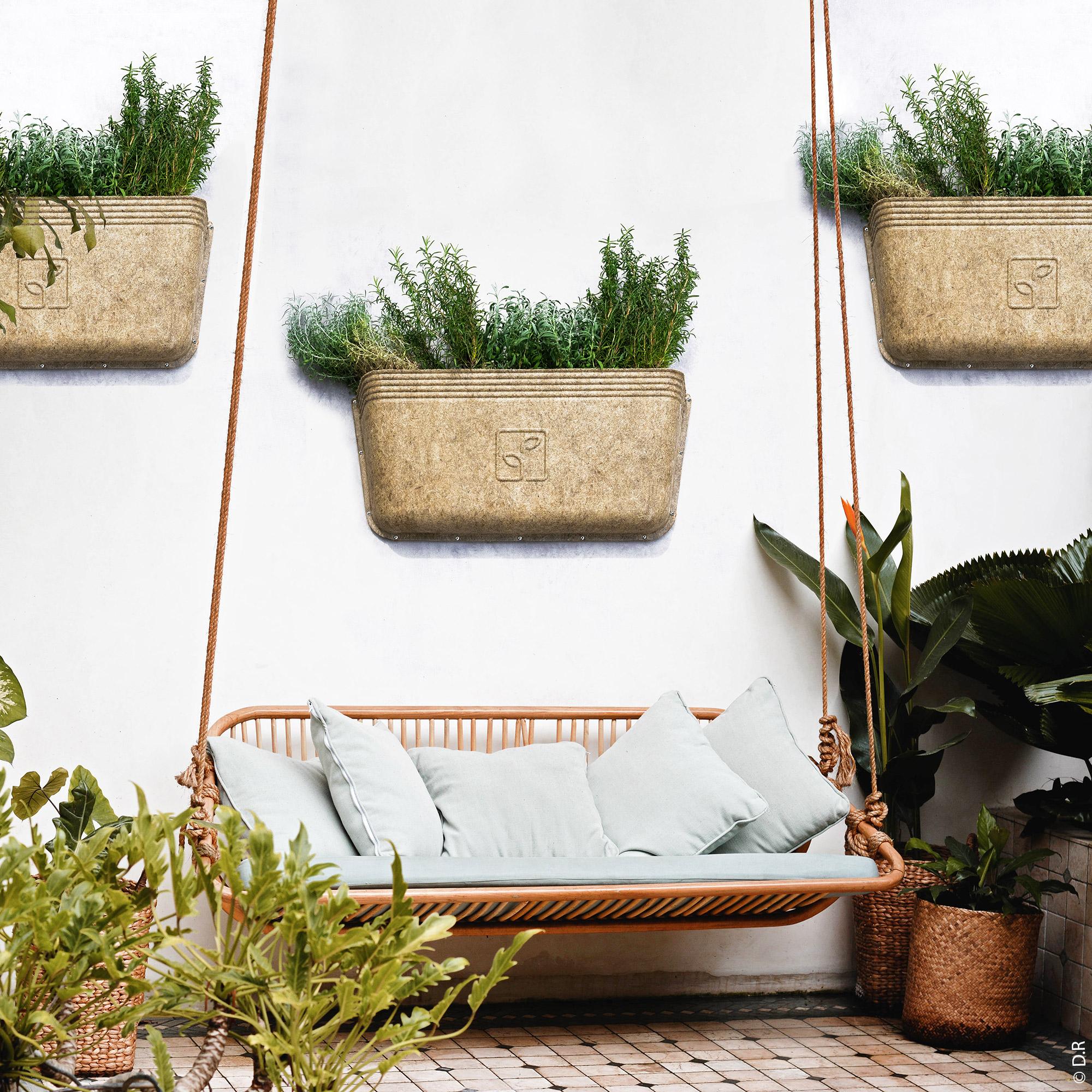 AGROVE : Un coin nature sur votre balcon ou terrasse : misez sur le meilleur des fibres naturelles